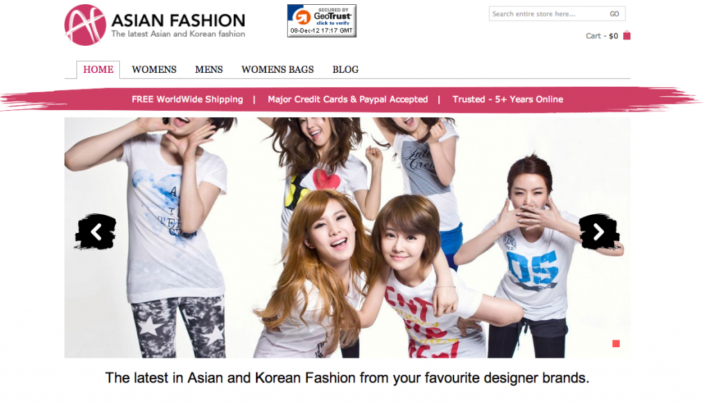 AsianFashion.com Beta