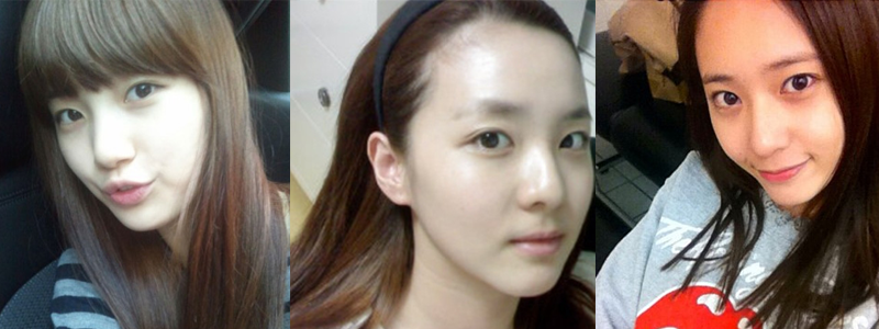 10-kpop-female-idols-with-no-make-up