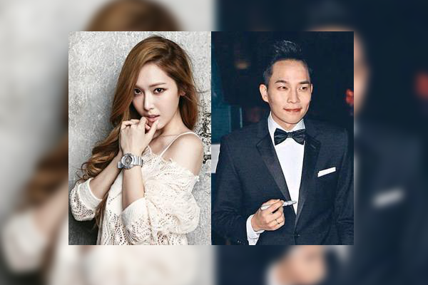 Boyfriend and girlfriend: Tyler Kwon and Jessica Jung