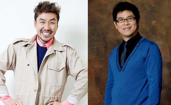 Noh Hong Chul and Kim Yong Man