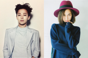 G-Dragon and Kiko Mizuhara