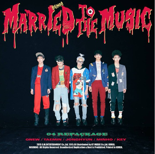 SHINee - Married to the music poster