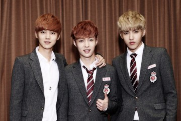 Lay, Luhan and Wu Yi Fan