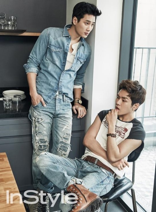 Hoya and Ahn Bo Hyun 2