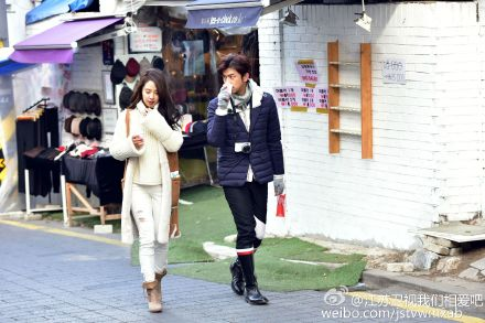 Song Ji Hyo and Chen Bolin